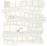 Artistic Tile Sinuous Mosaic contemporary bathroom tile