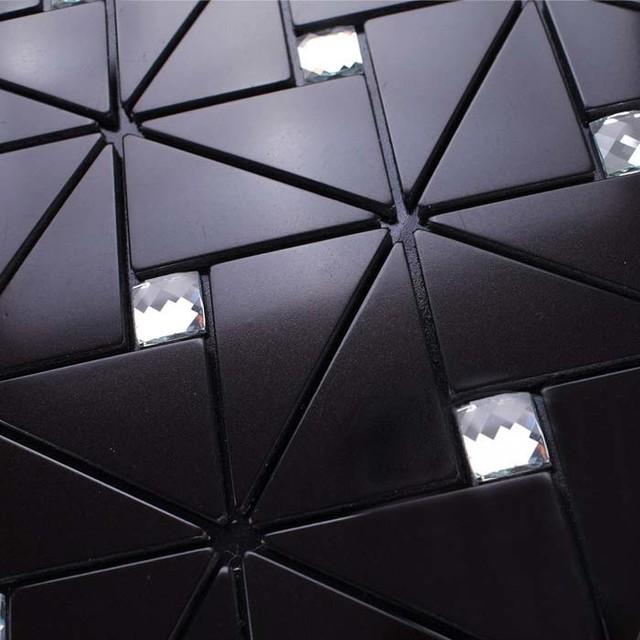Metallic Tile Kitchen Backsplash Wall Tiles Diamond   Metallic Wall Tiles  Kitchen .