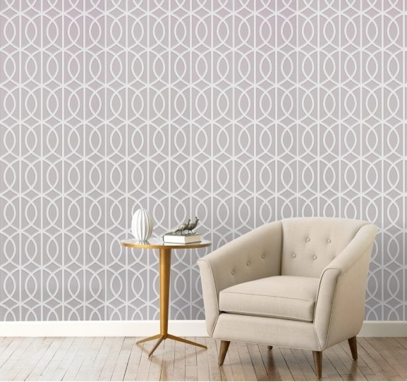 Gate dove wallpaper modern wallpaper by dwellstudio for Wall art wallpaper