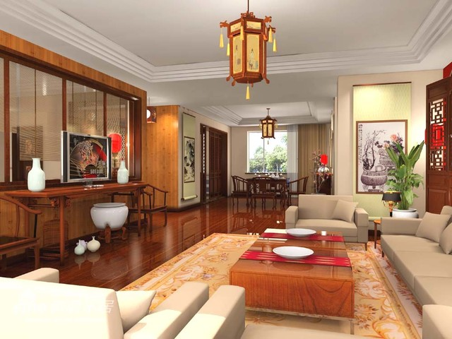Asian interior design for living room decor for Asian decorating ideas living room