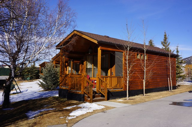Rustic Inn at Jackson Hole Wyoming traditional-exterior-elevation