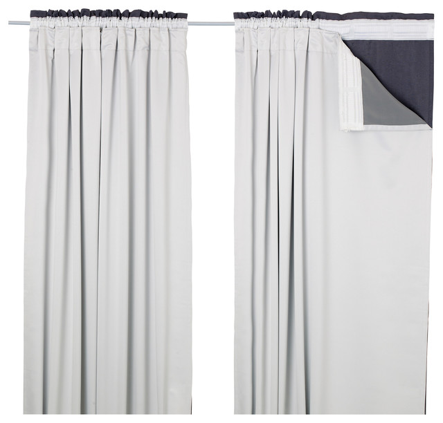 Glansnäva Curtain Liners, Set of 2 contemporary-curtains