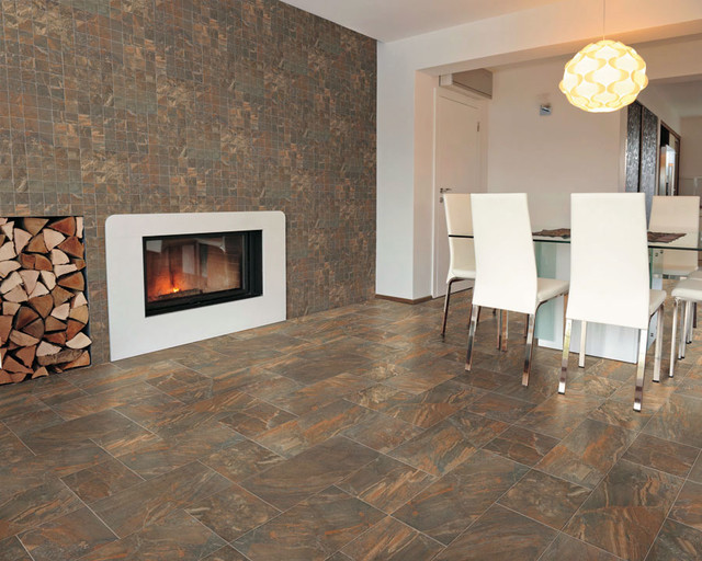 Slate Effect - Porcelain - Contemporary - Wall And Floor Tile - seattle - by Surface Art Inc