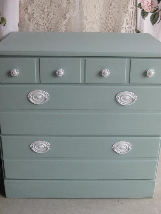 Hand Painted Vintage Dressers - Monets Attic