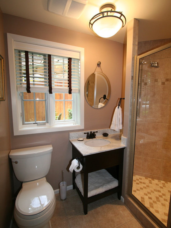 Small bathroom unique design for Full bathroom designs