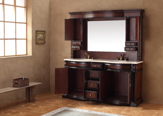 "72"" Tolka Double Sink Bathroom Vanity traditional-bathroom-vanities-and-sink-consoles"