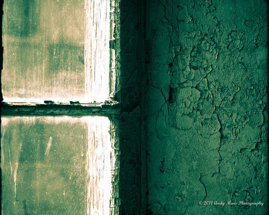 Window & Green Painted Wall - Window & Green Painted Wall © Andy Mars Photography