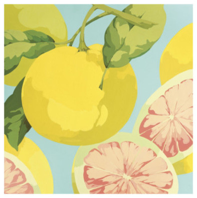 Fresh Grapefruits by Martha Negley contemporary artwork