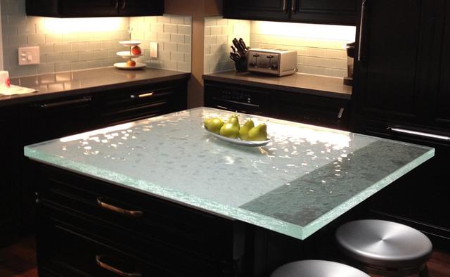 ThinkGlass Glass Countertops - Kitchen Countertops - by ThinkGlass