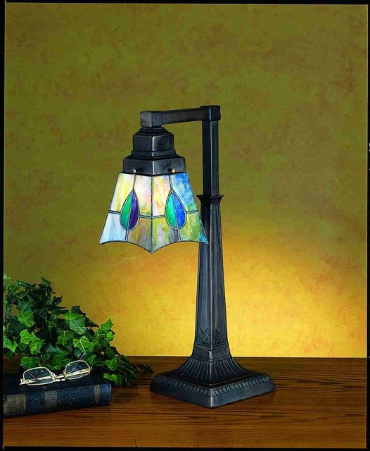 19.5 Inch H Mackintosh Leaf Desk Lamp Table Lamps table-lamps