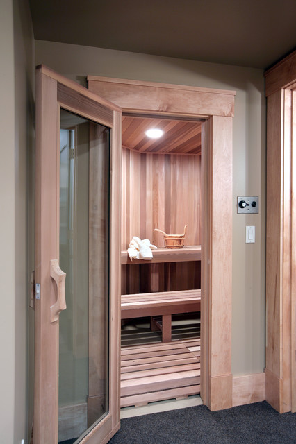 Sauna contemporary
