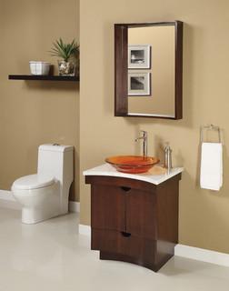 Small traditional bathroom vanities