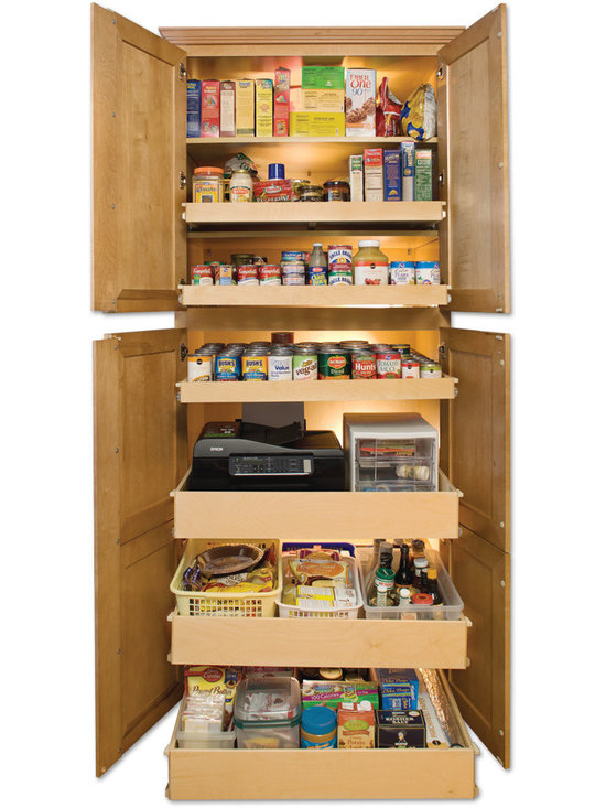 ShelfGenie Glide-Out Shelves - Ideal organization for your pantry - custom pull out shelves designed with your pantry in mind.