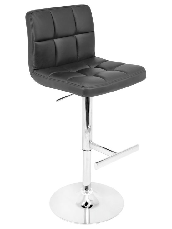 Lager Bar Stool - BLACK