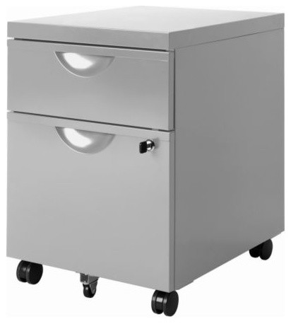 ERIK Drawer unit w 2 drawers on casters - Modern - by IKEA