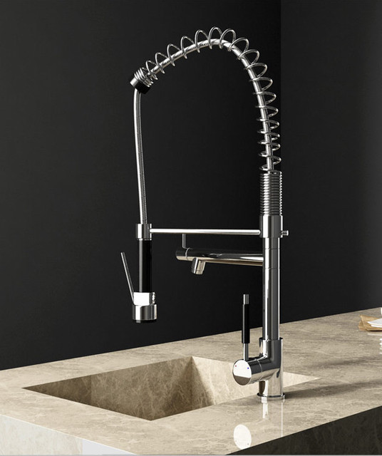 Pull Out Spray Function Kitchen Faucet - contemporary - kitchen