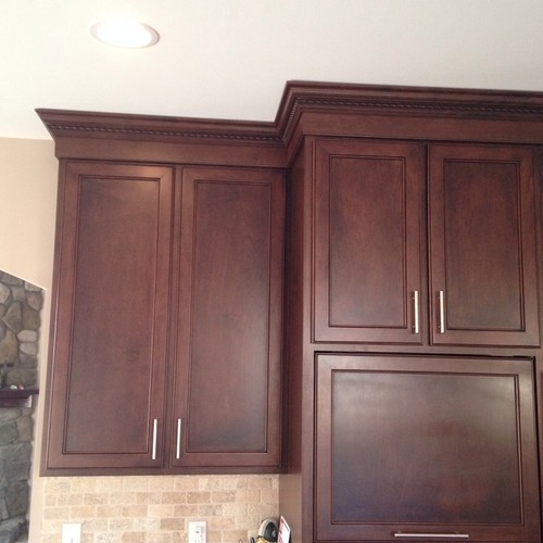 10 ft ceiling with kitchen cabinets to the top for 10 inch kitchen cabinet