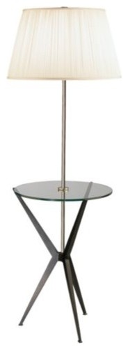 Malcolm Tray Table Floor Lamp modern-side-tables-and-end-tables
