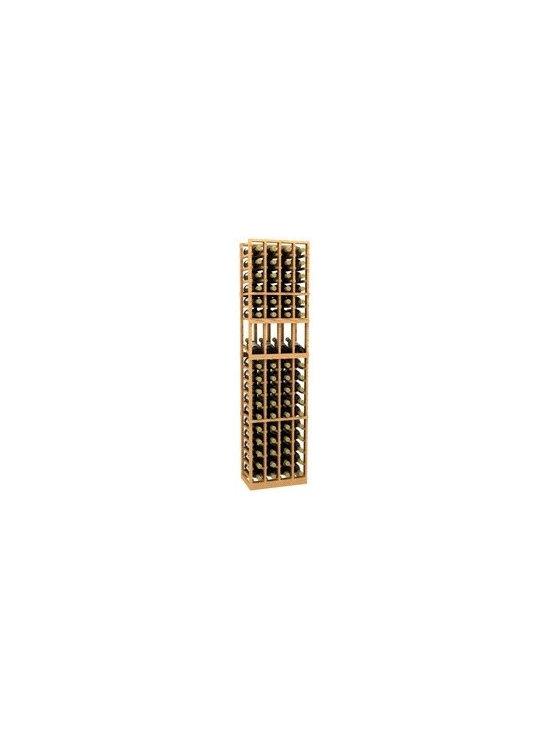6' Four-Column Display Wood Wine Rack - The 6' Four-Column Display Wood Wine Rack is part of our 6' Series.