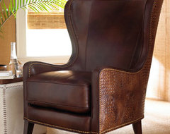 Massoud Dooley Wing Chair traditional-chairs