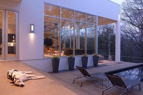 WOODS EDGE contemporary-patio