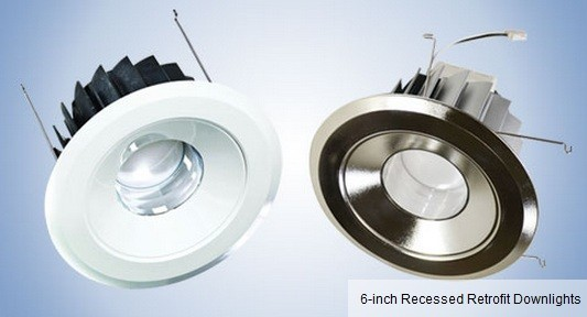 MaxLite MaxLED 65W Replacement (14W) 6-Inch Recessed Retrofit Fixture  recessed lighting