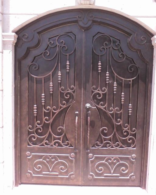 Mediterranean Iron Doors mediterranean-front-doors