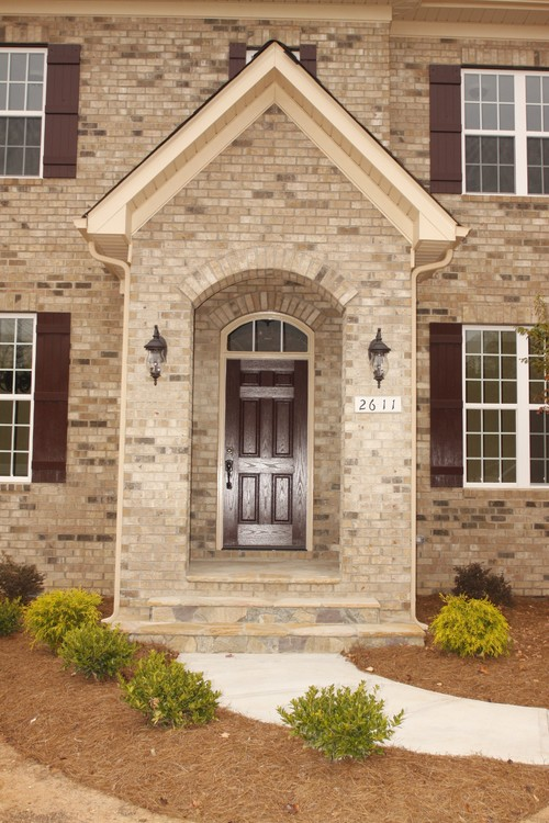 Red brick house trim colors joy studio design gallery Best front door colors for brick house