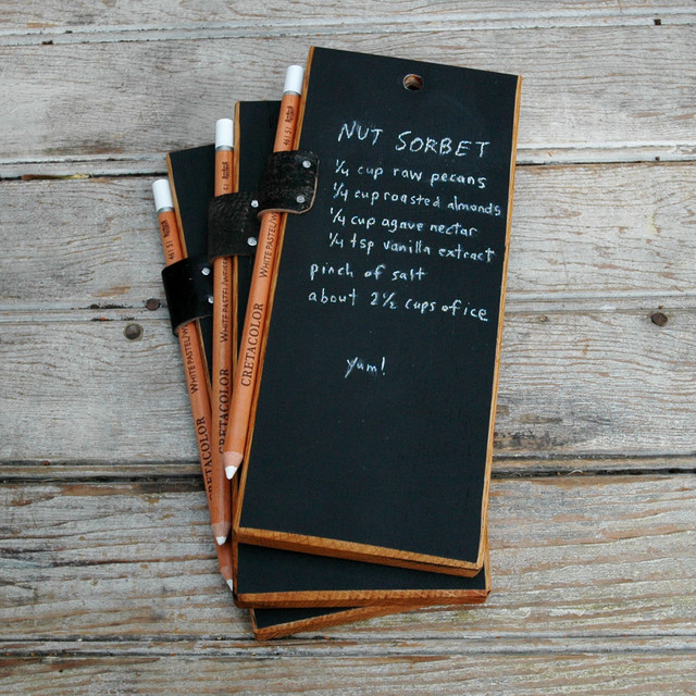 Trio of Chalk Tablets traditional-bulletin-boards-and-chalkboards