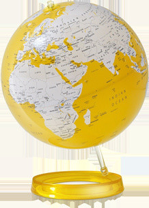 YELLOW GLOBE  artwork
