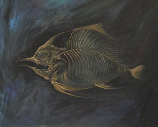 Art - Golden Fish Bone
