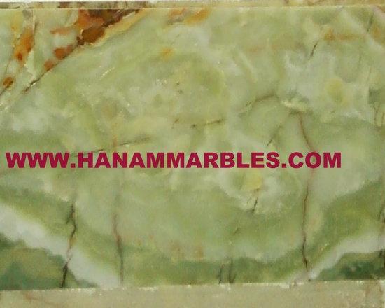 Afghan Green Onyx Tiles - Afghan Green Onyx Tiles