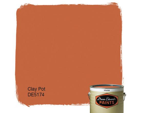 Dunn-Edwards Paints Clay Pot DE5174 -