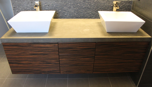 Vanity with 2 vessel sinks modern-bathroom-vanities-and-sink-consoles