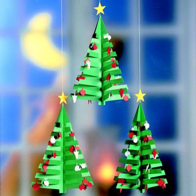 Flensted Mobiles - Advent Calendar Tree 3 modern holiday decorations