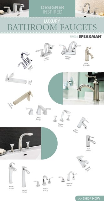 Designer Inspired Luxury Bathroom Faucets bathroom-faucets-and-showerheads