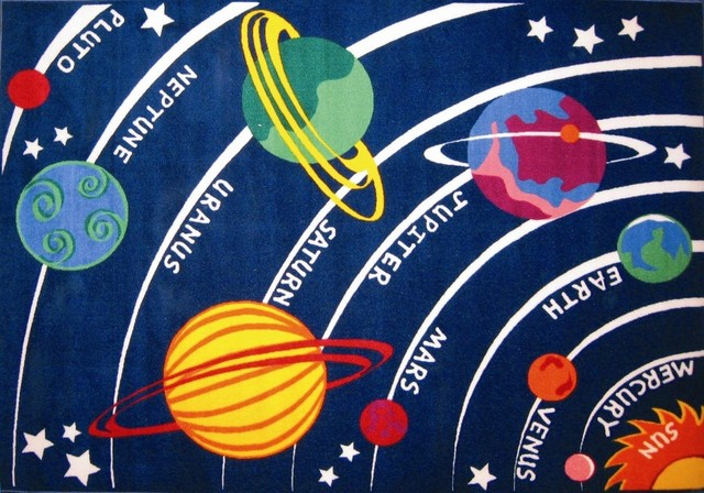 LA Rug Solar System Rug - eclectic - kids rugs - by Amazon