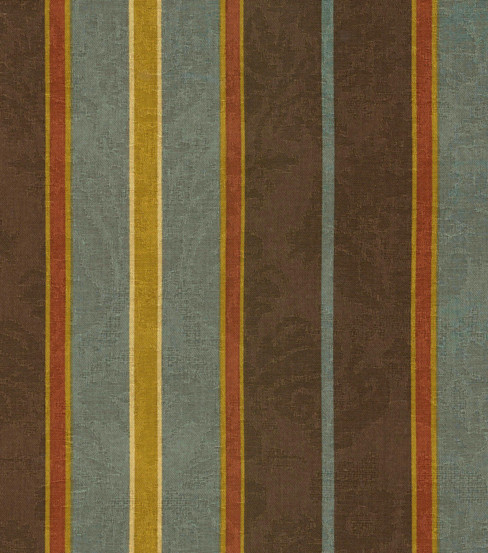 Waverly Newberry Stripe Fabric, Bay Leaf traditional upholstery fabric
