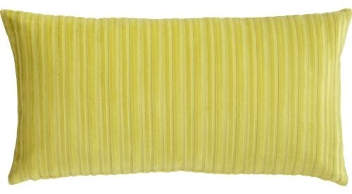 "bindi stripe pollen 23""x11"" pillow modern-decorative-pillows"