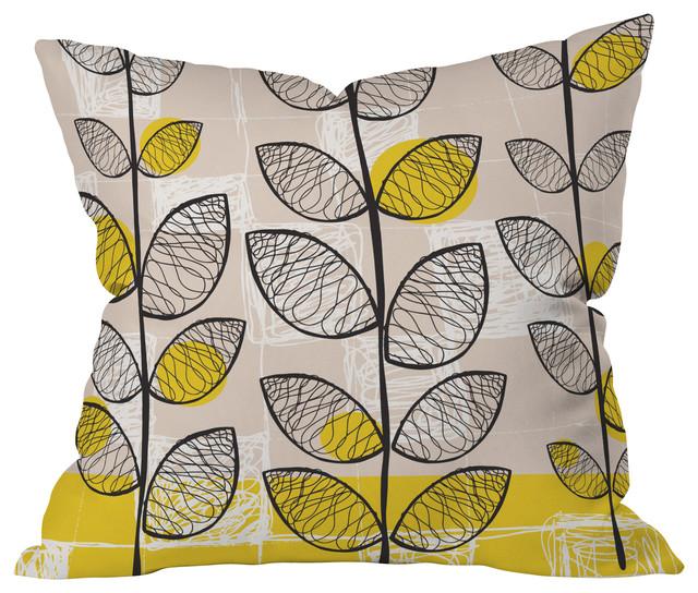 Rachael Taylor 50s Inspired Throw Pillow, 18x18x5 contemporary-decorative-pillows