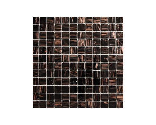 Black Gold Glass Mosaic -