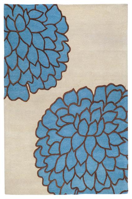 Surya Artist Studio ART-225 9' x 13' Ivory, Sky Rug contemporary-rugs