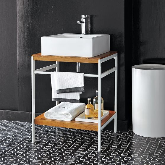 2 X 2 Bath Console Modern Bathroom Vanities And Sink Consoles By West Elm