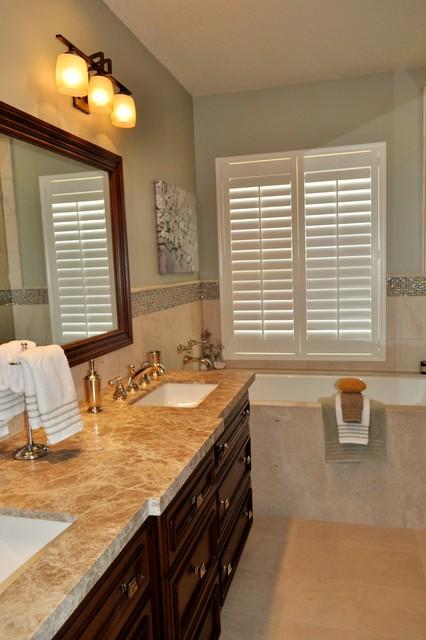 Tustin Master Bathroom & Bedroom traditional-bathroom