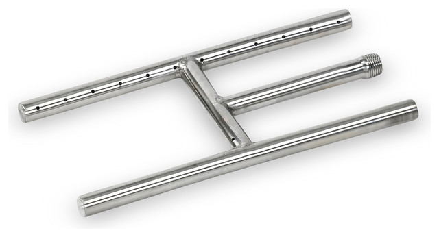 Quot stainless steel h style burner traditional