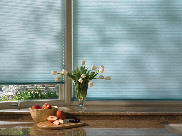 Hunter Douglas Duette® Honeycomb Shades and Window Treatments contemporary