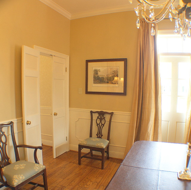 Metairie Lakefront Dining Room traditional