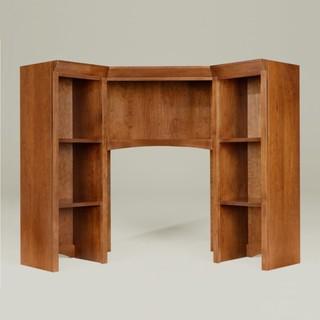 new impressions corner unit desk upper cabinet - Traditional - Desks ...