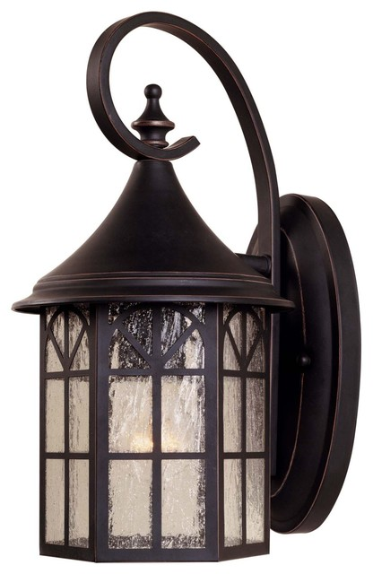 Savoy House Manchester Outdoor Wall Mount Light Fixture in Slate craftsman-outdoor-wall-lights-and-sconces