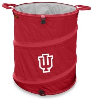 Indiana University Trash Can contemporary-trash-cans